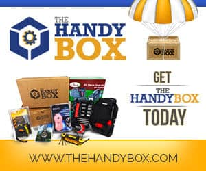 The Handy Box Monthly Subscription Box of tools and gadgets
